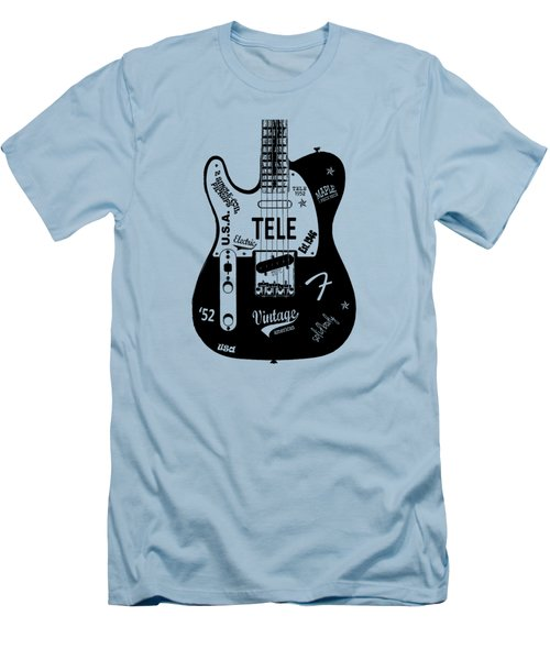 Fender Telecaster 52 Men's T-Shirt (Slim Fit) by Mark Rogan