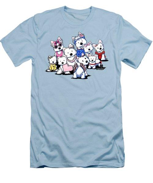 International Westie Women Men's T-Shirt (Athletic Fit)