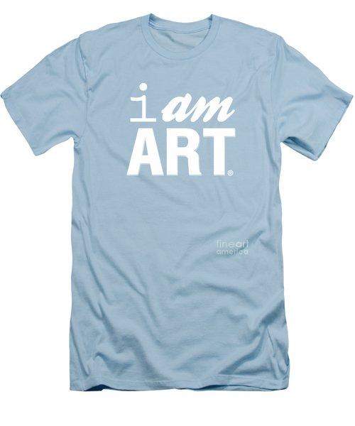 I Am Art- Shirt Men's T-Shirt (Athletic Fit)