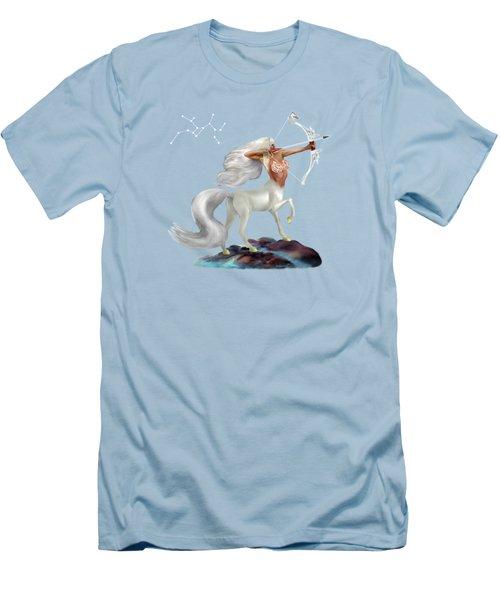 Mystical Sagittarius Men's T-Shirt (Athletic Fit)