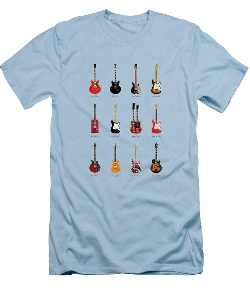 Guitar Icons No1 Men's T-Shirt (Athletic Fit)