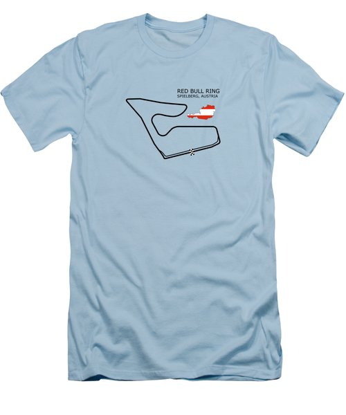 The Red Bull Ring Men's T-Shirt (Slim Fit) by Mark Rogan