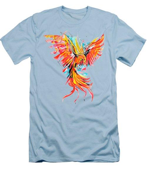 Phoenix Men's T-Shirt (Slim Fit) by Adriano Diana