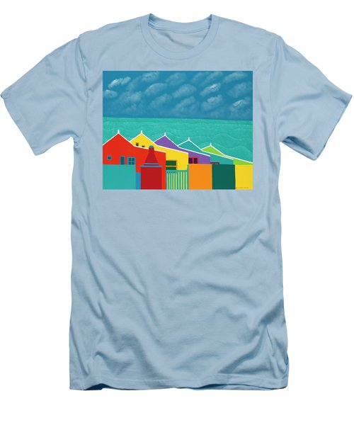 Aruba Fantasy  Men's T-Shirt (Athletic Fit)