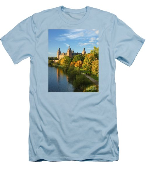 Aschaffenburg Bavaria 1 Men's T-Shirt (Slim Fit) by Rudi Prott