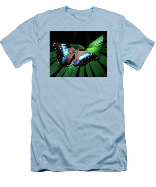 Asleep Beneath The Moon Men's T-Shirt (Slim Fit) by Karen Wiles