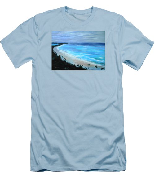 Atlantis Men's T-Shirt (Slim Fit) by Jan VonBokel