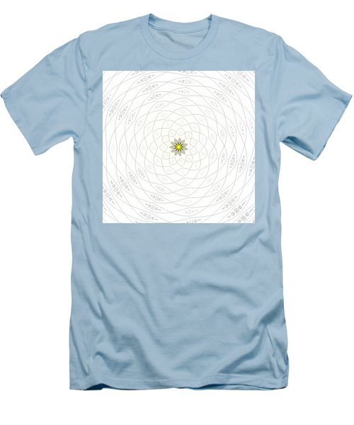 Atomic Lotus No. 1 Men's T-Shirt (Athletic Fit)