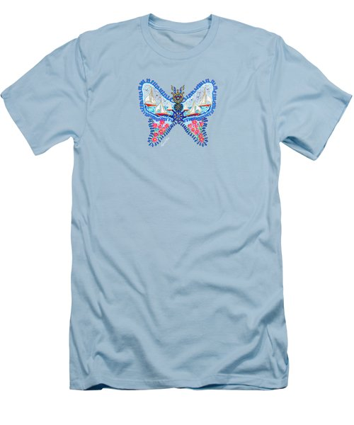 August Butterfly Men's T-Shirt (Athletic Fit)