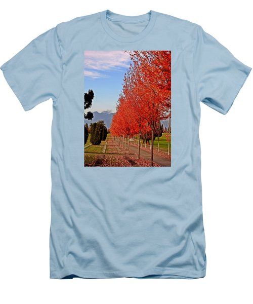 Autumn Delight, Vancouver Men's T-Shirt (Slim Fit) by Brian Chase