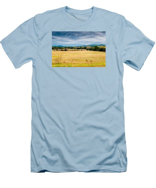 Autumn Field Men's T-Shirt (Athletic Fit)