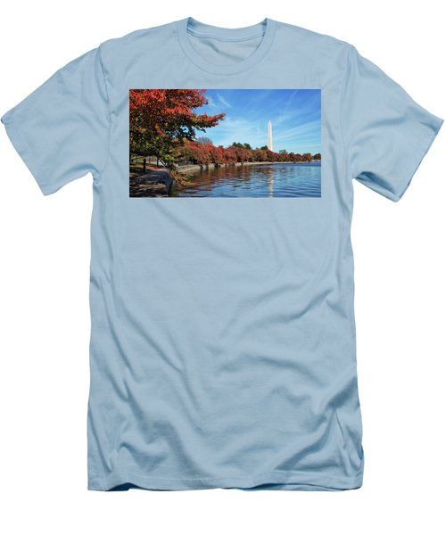 Autumn On Tidal Basin Men's T-Shirt (Athletic Fit)