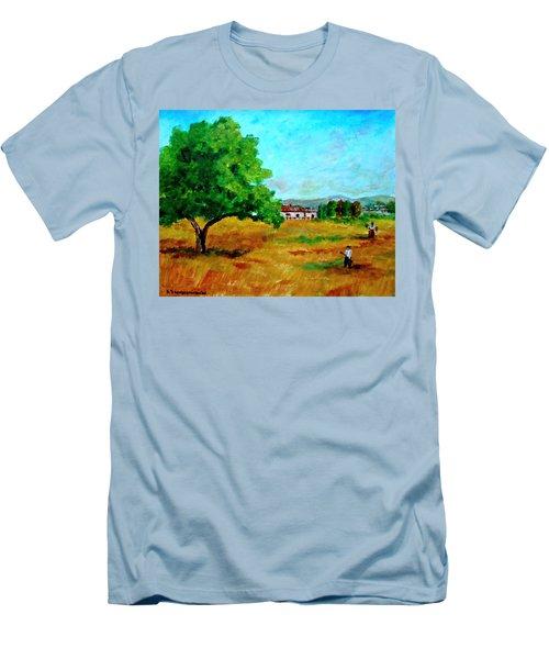 Autumn Preparing Men's T-Shirt (Athletic Fit)