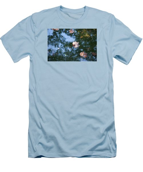 Autumn's Here Men's T-Shirt (Slim Fit) by Allen Carroll