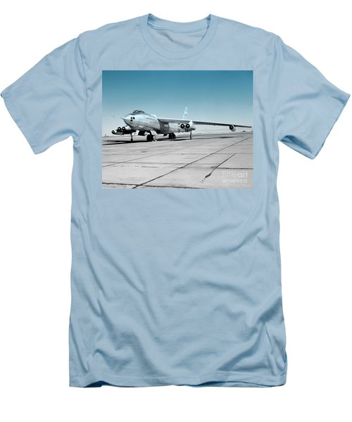 B47a Stratojet - 1 Men's T-Shirt (Slim Fit) by Greg Moores