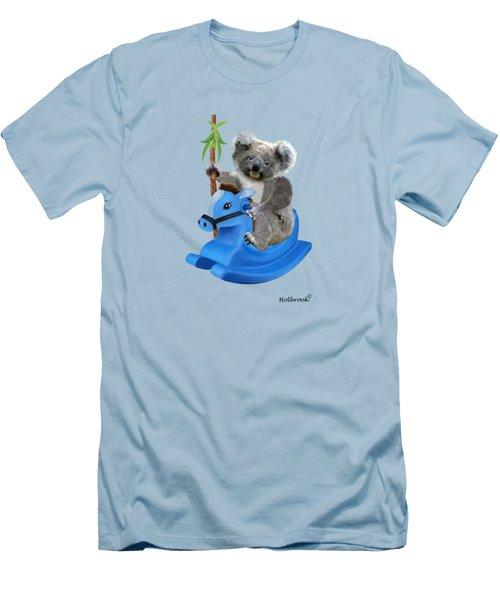 Baby Koala Buckaroo Men's T-Shirt (Slim Fit) by Glenn Holbrook
