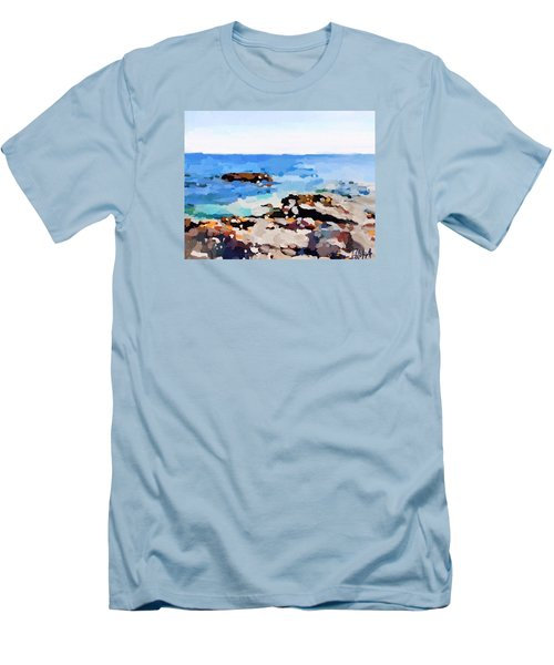 Back Shore, Gloucester, Ma Men's T-Shirt (Athletic Fit)