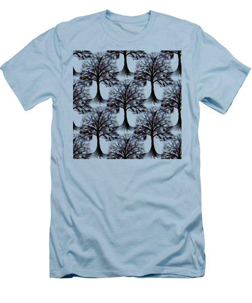 Background Choice Orchard 2 Men's T-Shirt (Slim Fit) by Barbara Moignard
