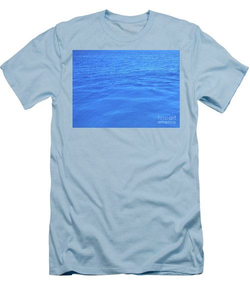 Bahama Blue Men's T-Shirt (Athletic Fit)
