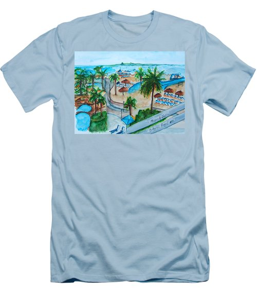 Bahamas Balcony Men's T-Shirt (Athletic Fit)