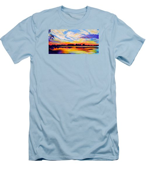 Baker's Sunset Men's T-Shirt (Athletic Fit)
