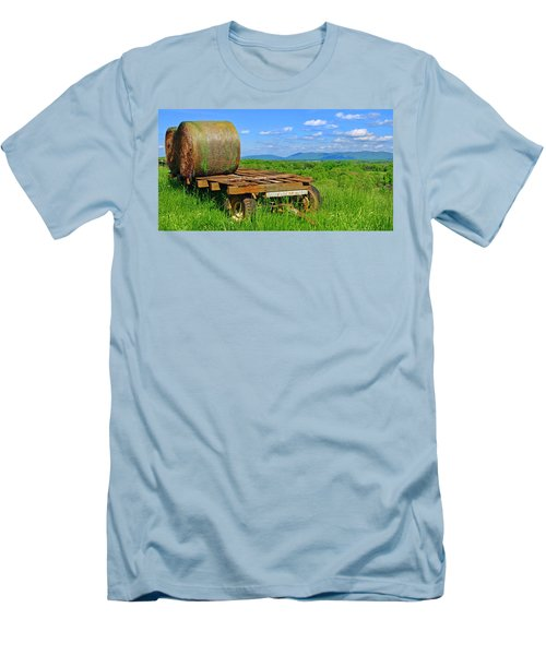 Bales At Rest Men's T-Shirt (Athletic Fit)