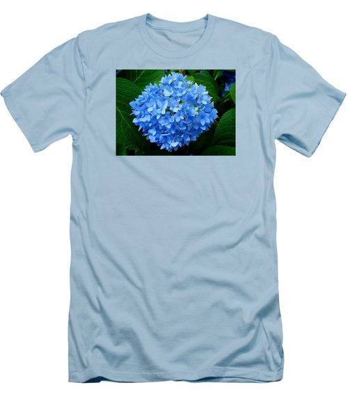 Ball Of Blue Men's T-Shirt (Slim Fit) by Michiale Schneider