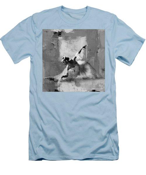 Ballerina Dance On The Floor  Men's T-Shirt (Slim Fit) by Gull G