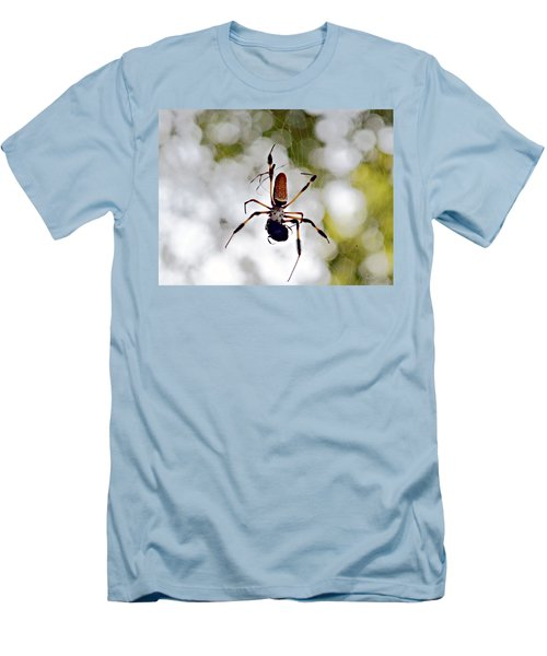 Banana Spider Lunch Time 2 Men's T-Shirt (Athletic Fit)
