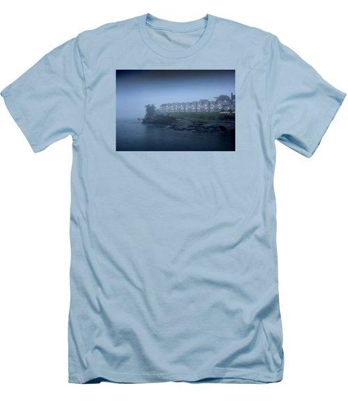 Bar Harbor Inn - Stormy Night Men's T-Shirt (Athletic Fit)