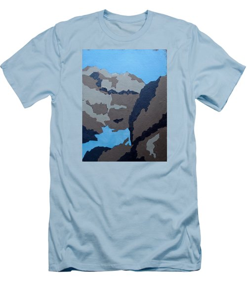 Barker Dam Abstract Men's T-Shirt (Athletic Fit)