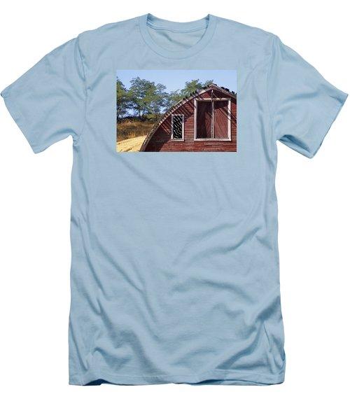 Barn Shadows Men's T-Shirt (Athletic Fit)