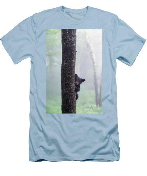 Bashful Bear Cub - Fs000230 Men's T-Shirt (Athletic Fit)