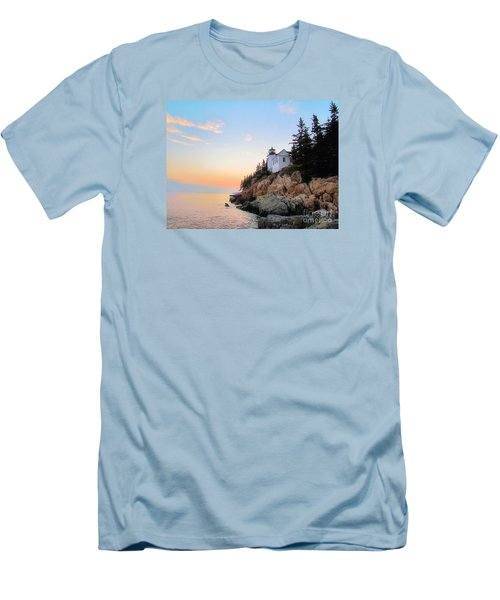 Bass Harbor Sunset II Men's T-Shirt (Athletic Fit)