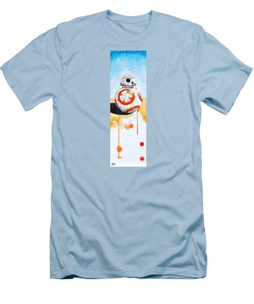 BB8 Men's T-Shirt (Slim Fit) by David Kraig