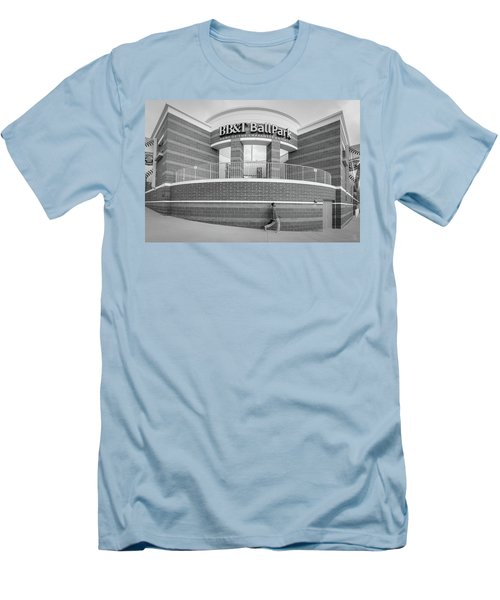 Bbt Ballpark Building Men's T-Shirt (Athletic Fit)