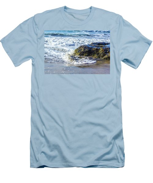 Beach 1 Men's T-Shirt (Athletic Fit)