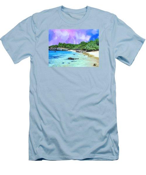 Beach 69 Big Island Men's T-Shirt (Athletic Fit)