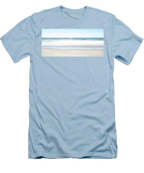 Beach Abstract Men's T-Shirt (Athletic Fit)