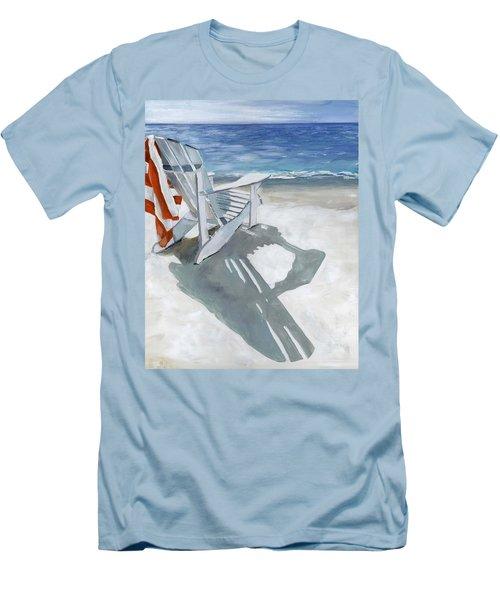 Beach Chair Men's T-Shirt (Athletic Fit)