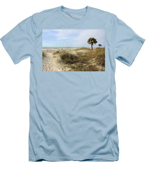 Beach Path Men's T-Shirt (Athletic Fit)