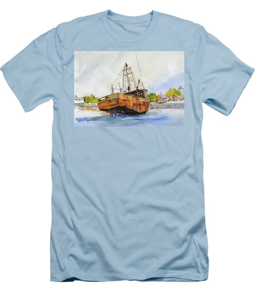 Beached Men's T-Shirt (Athletic Fit)