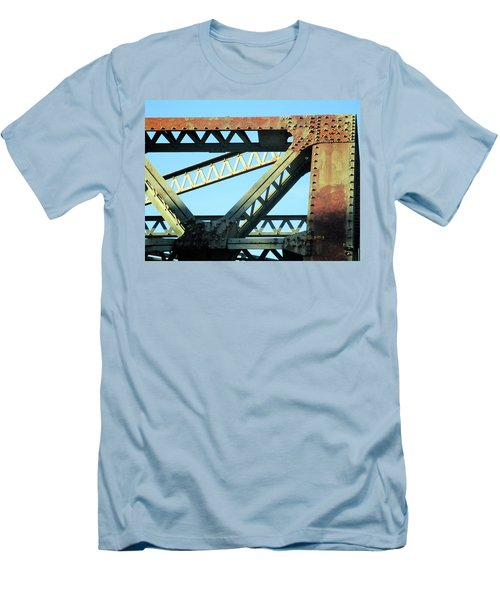 Beams And Bolts Men's T-Shirt (Athletic Fit)