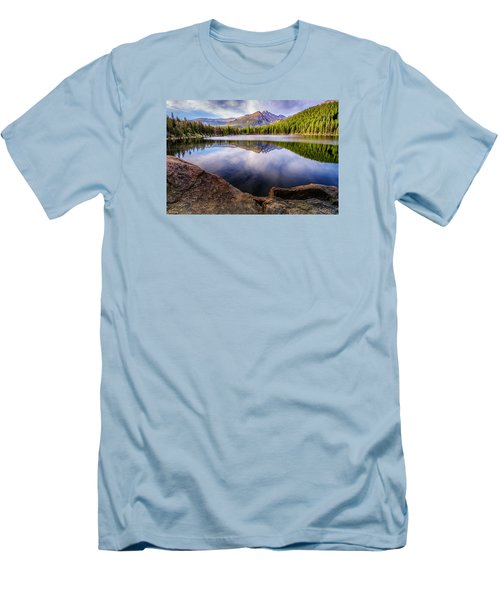Bear Lake 3 Men's T-Shirt (Athletic Fit)