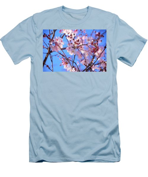 Beautiful Blossoms Blooming  For Spring In Georgia Men's T-Shirt (Athletic Fit)