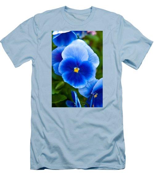 Beautiful Blues Men's T-Shirt (Slim Fit) by Az Jackson