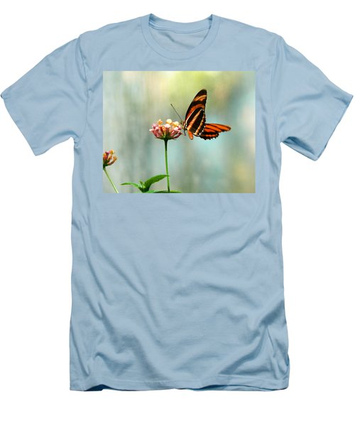 Beautiful Butterfly Men's T-Shirt (Slim Fit) by Laurel Powell