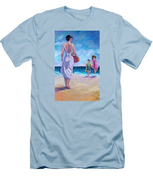 Beautiful Day At The Beach Men's T-Shirt (Athletic Fit)