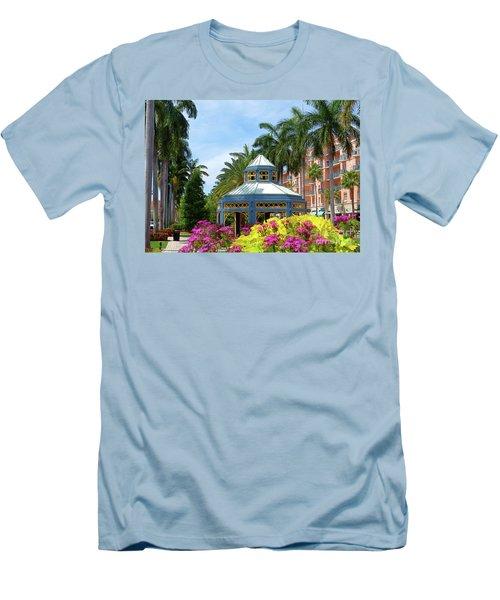 Beautiful Mizner Park In Boca Raton, Florida. #4 Men's T-Shirt (Athletic Fit)
