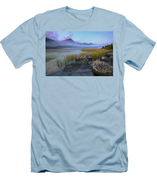 Beauty Creek Dawn Men's T-Shirt (Athletic Fit)